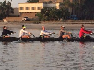 Photo of Innovations High School Graduate at San Diego University Womens Crew